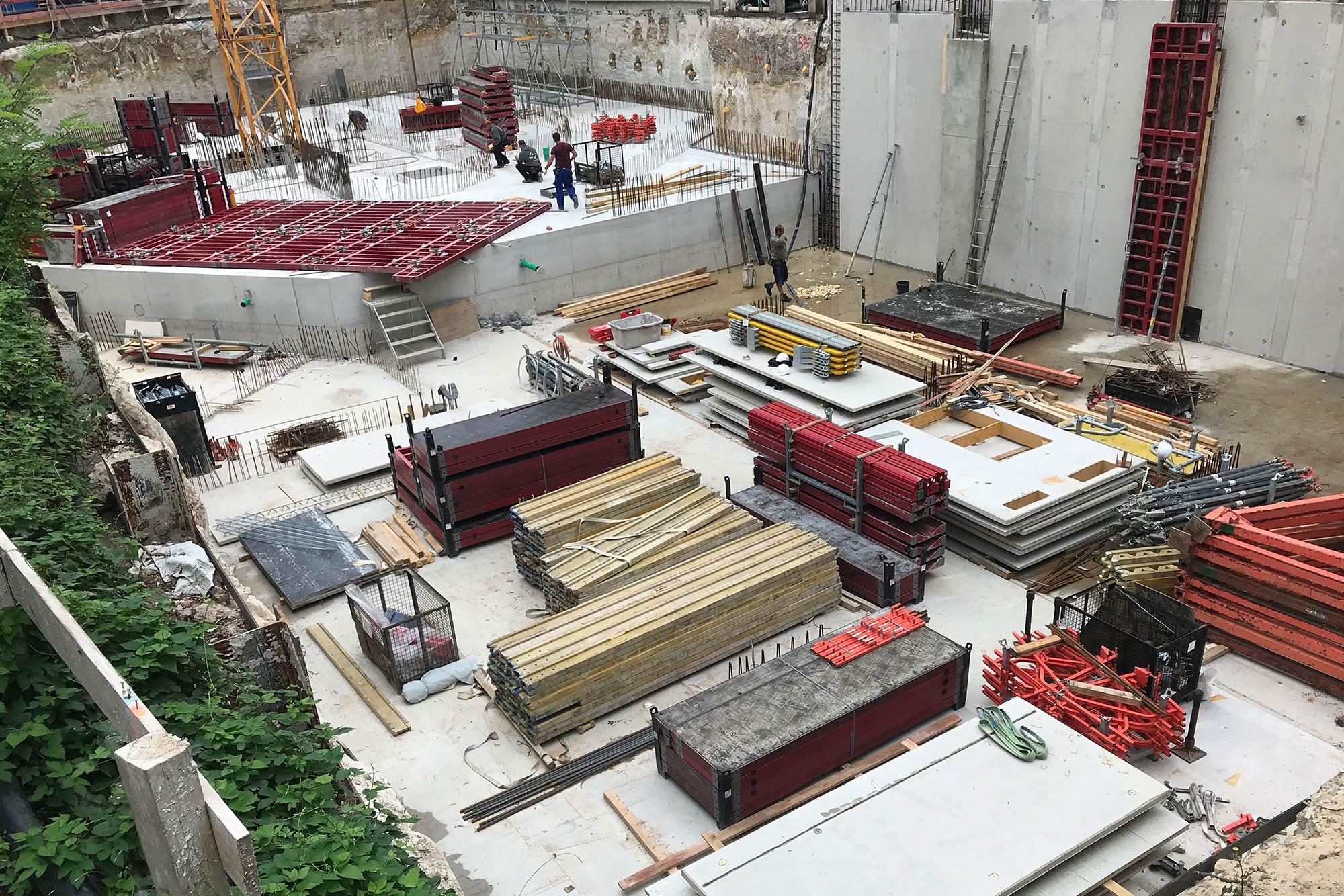 Baustelle Lützowufer