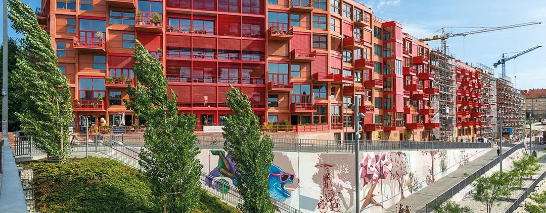 Rohbau-Projekt, Neubau eines Wohnhauses, Berlin Kreuzberg