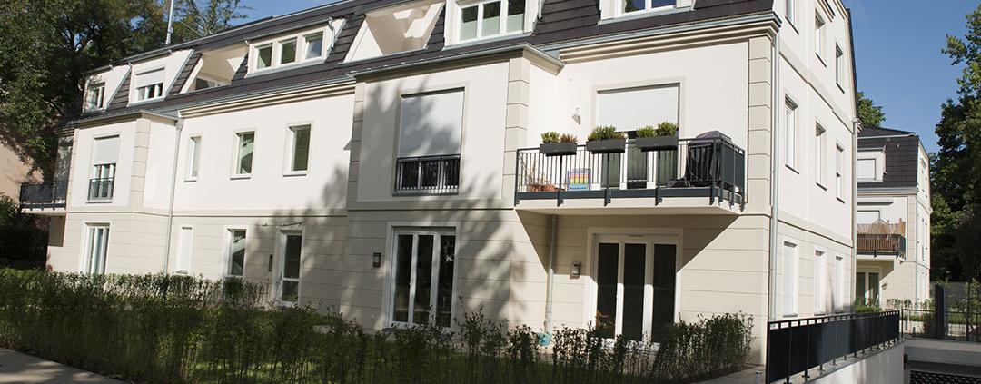 projekt Rohbau, Wohnhaus Berlin westend